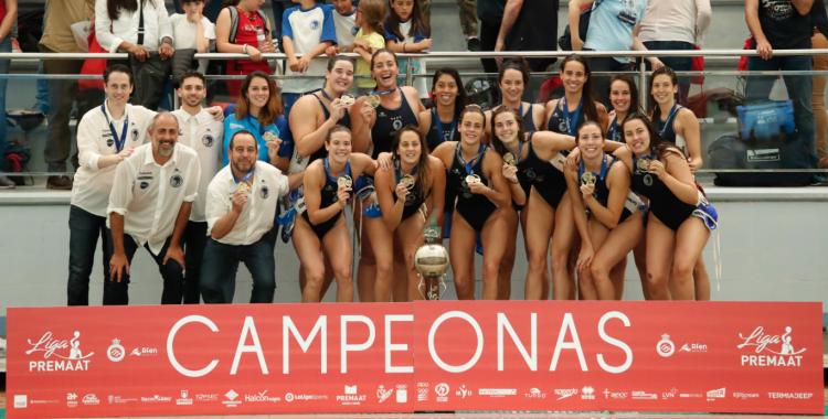 Imatge del títol de lliga aconseguit a Sant Andreu | RFEN