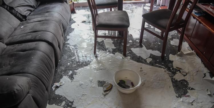 Imatge d'un dels pisos afectats del carrer Peñalara | Roger Benet
