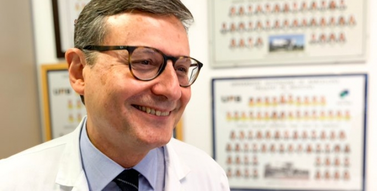 Premi Pere Vidal 2019 per al Doctor SalvadorNavarro, Director del Servei de Cirurgia i de l'Aparell Digestiu delTaulí | Cedida
