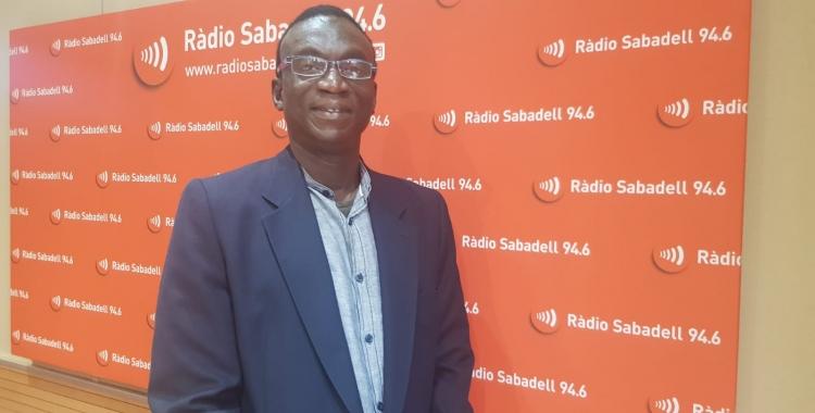 Bubacar Balde, president de la Federació d'Associacions d'Àfrica Negra | Ràdio Sabadell