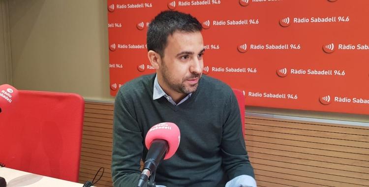 El portaveu del govern, Pol Gibert   Ràdio Sabadell