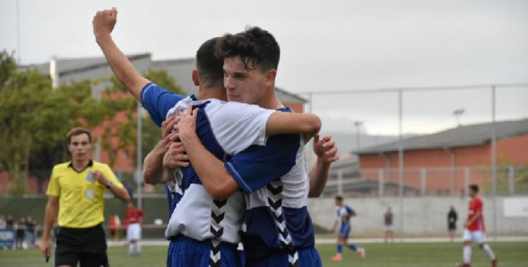 El Sabadell juvenil aconsegueix una victòria de prestigi | Futbol Base CES