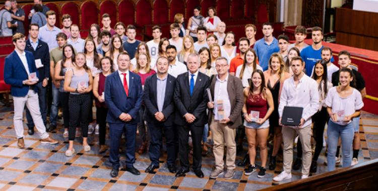 L'acte es va dur a terme al Paranimf de la Universitat de çBarcelona. | UAB
