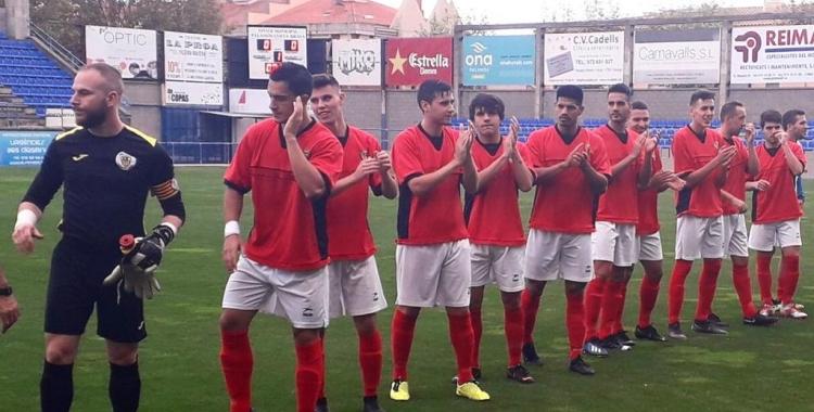 Onze titular del Sabadell Nord ahir a Palamós | Antonio Raja
