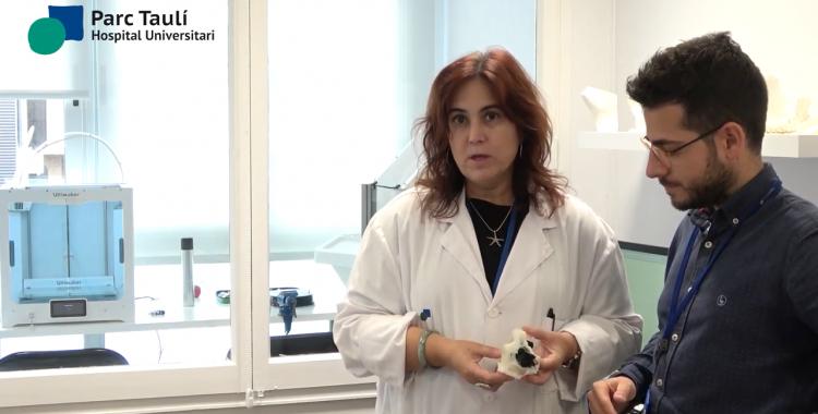 Cardona i Fillat explicant la intervenció   Youtube
