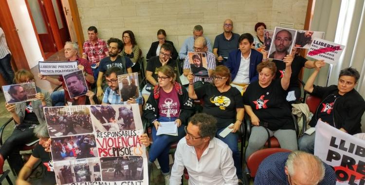 Grup de suport als '9 de Lledoners' i els detinguts el 23-S | Pere Gallifa