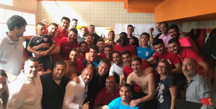 Celebració local després de la classificació | Adrián Arroyo