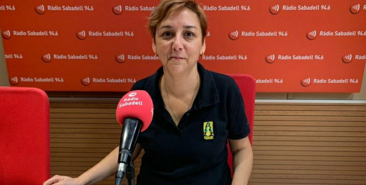 BeaJiménez, cap de colla dels Castellers de Sabadell | Mireia Sans
