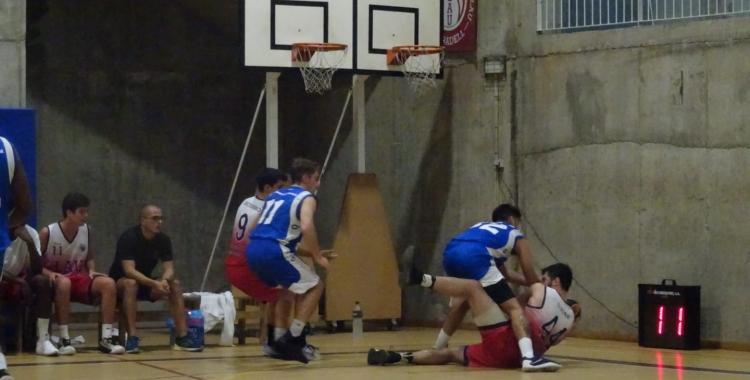Imatge del partit disputat al carrer Jardí | Sergi Park