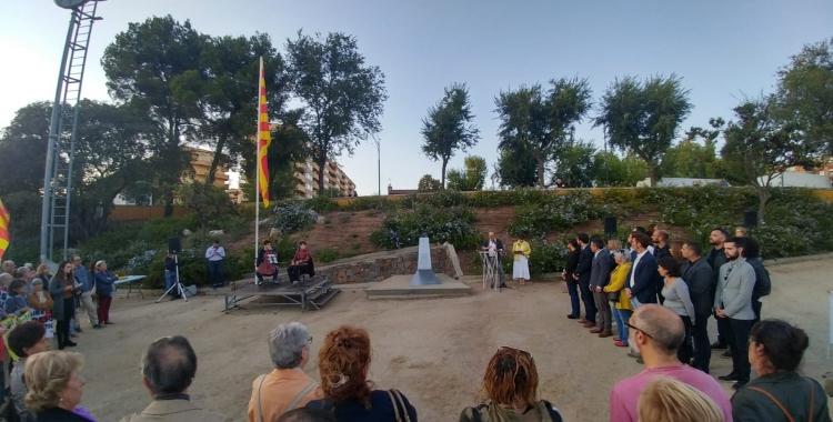 Acte institucional del Memorial Lluís Companys | Ràdio Sabadell