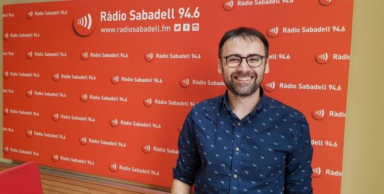 """Toni Padilla al programa """"Al Matí""""   Raquel García"""