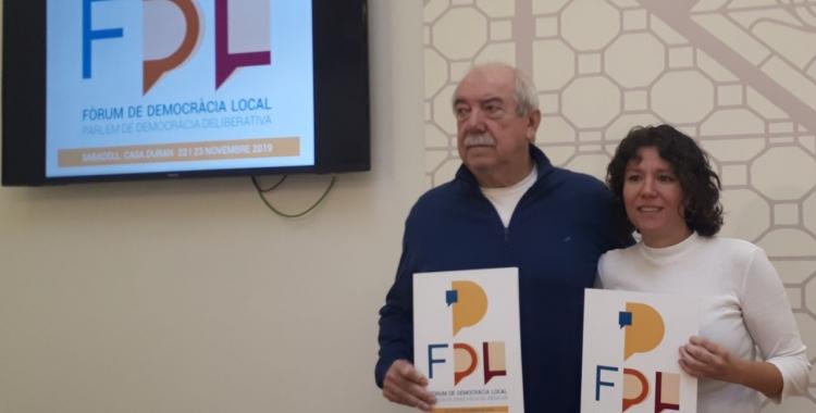 Manuel Navas i la tinenta d'alcaldessa Marta Morell/ Karen Madrid
