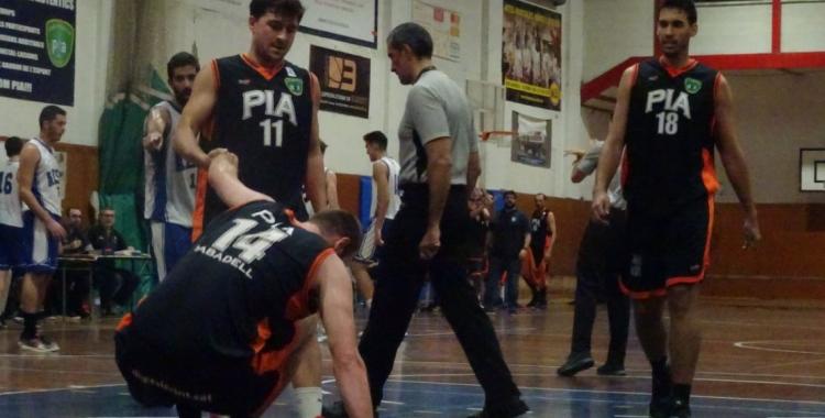 Can Colapi només ha pogut gaudir d'un triomf del Bàsquet Pia en el present curs | Sergi Park