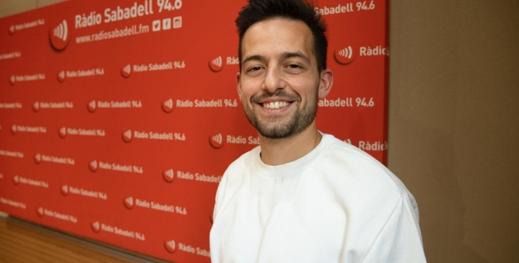 Antonio Romero avui als estudis de Ràdio Sabadell | Roger Benet