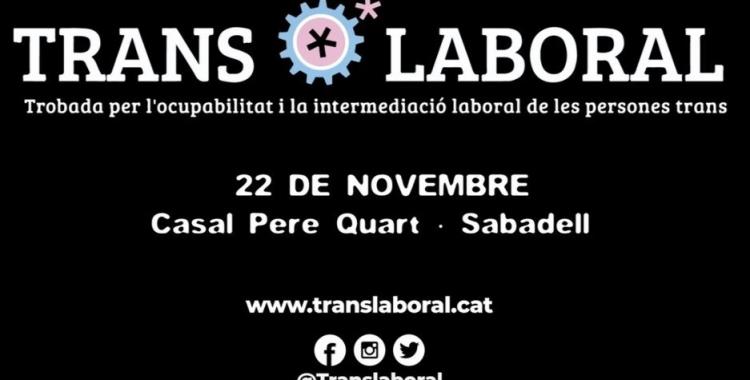 Cartell de la segona edició de la TransLaboral | Cedida