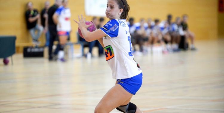 Torras va signar dos gols en l'estrena europea del Granollers femení | Toni Torrillas