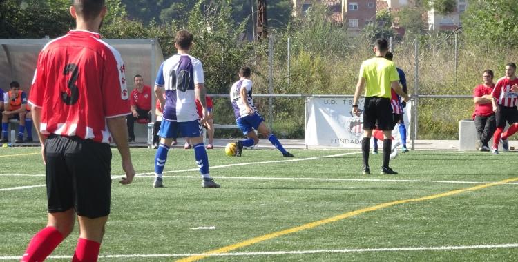 El més necessitat dels equips sabadellencs, el Tibidabo, va sumar la seva segona victòria a la lliga   Sergi Park