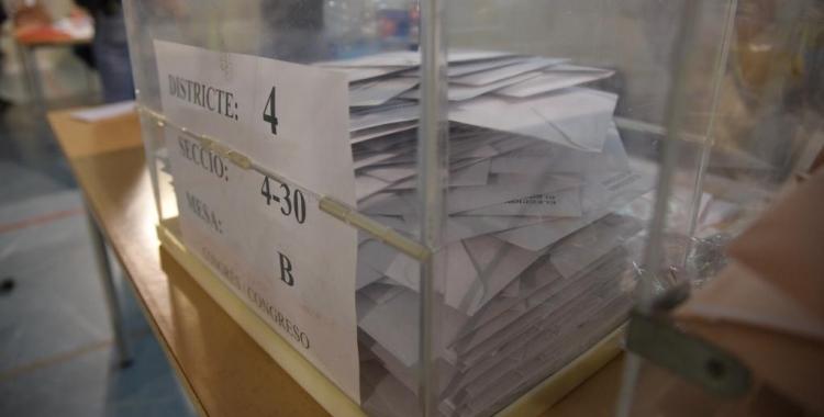 Més de 153.000 persones podran votar demà a Sabadell | Roger Benet