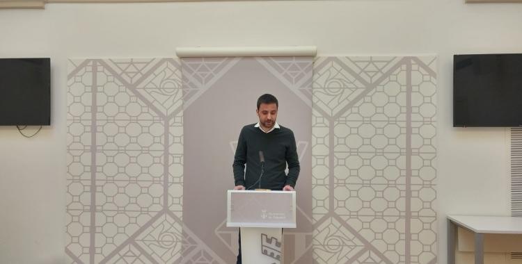 Pol Gibert, portaveu del govern, ha anunciat avui el Ple extraordinari de divendres | Ràdio Sabadell