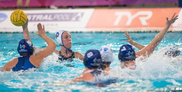 La canadenca Monika Eggens va destacar en el segon temps contra l'Orizzonte | Roger Benet