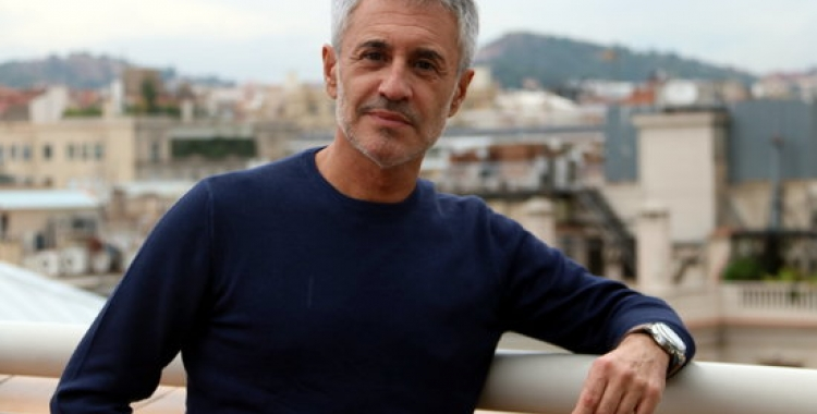 Sergio Dalma en un terrat de Barcelona | ACN