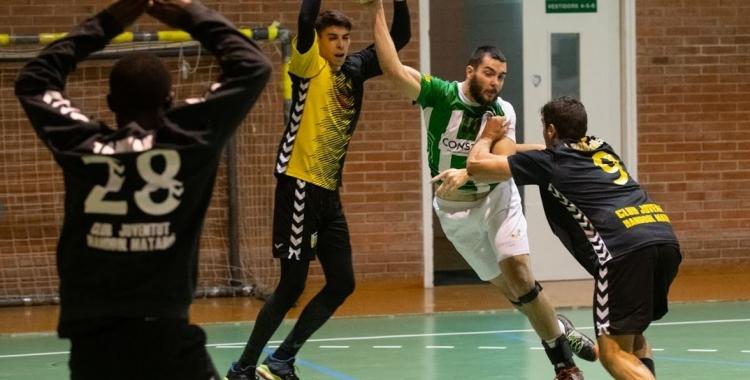 Arnau Xerta va reaparèixer la setmana passada en el triomf contra el Mataró | Èric Altimis - OAR Gràcia