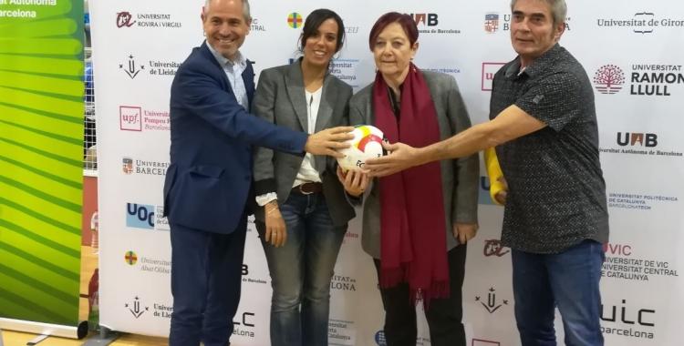 Oriol Marcé, Marta Farrés, Margarita Arboix i Andreu Benet | Sergi Park