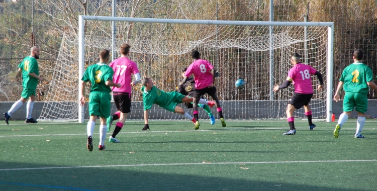 Imatge del penúltim duel de seleccions de Sabadell i Terrassa | FCF