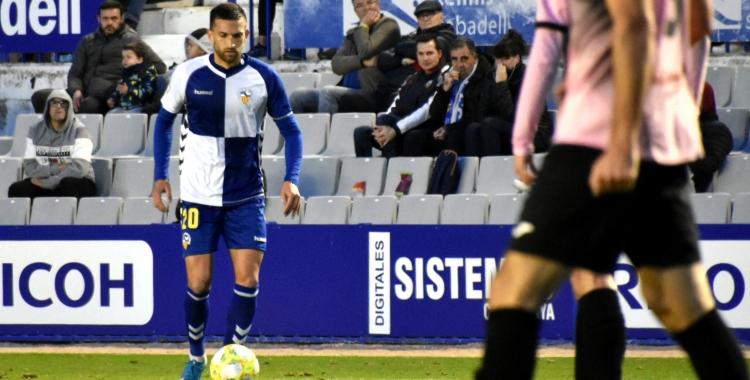 Grego Sierra fa un parell de setmanes contra el Prat | Críspulo Díaz