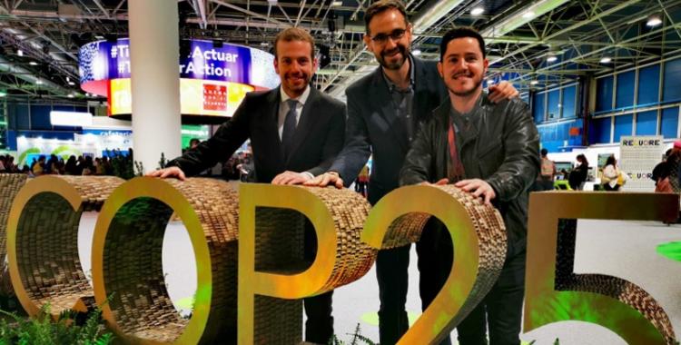 Nil López, Ignasi Giménez (centre) i Carles Rodríguez   @carlesrod