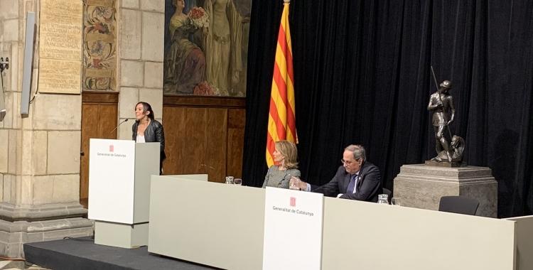 L'alcaldessa de Sabadell Marta Farrés, a l'acte de cloenda | Ajuntament de Sabadell