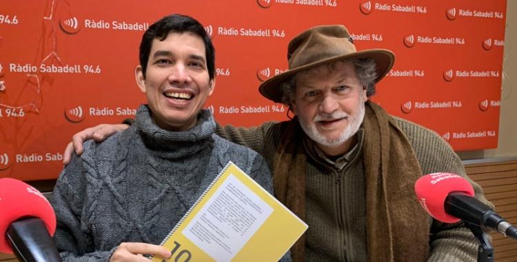 Dimitri Defranc i Hugo Colacho, a Ràdio Sabadell/ Mireia Sans