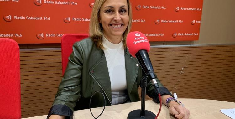 Eva Menor, alcaldessa de Badia del Vallès | Mireia Sans
