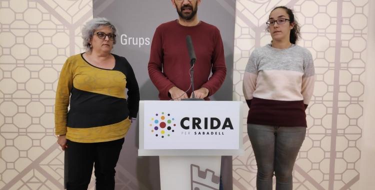 Nani Valero, Maties Serracant i Anna Lara | Pau Duran