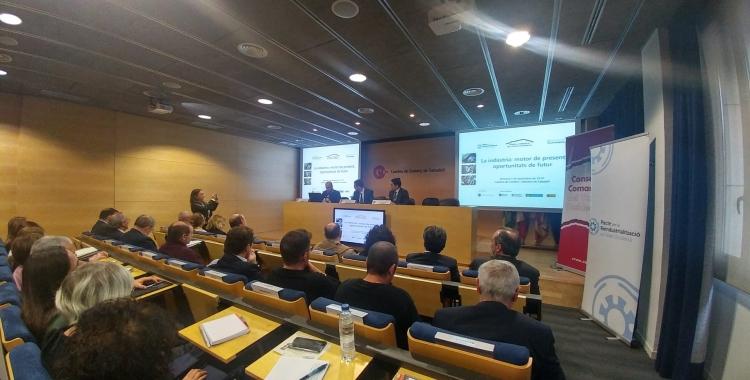 Presentació de l'Informe Flaix Indústria a la Cambra de Comerç | Ràdio Sabadell