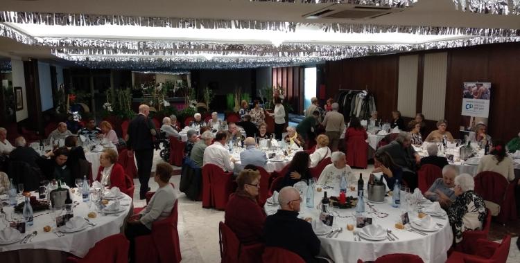 El dinar de Nadal s'ha celebrat a l'Hotel Urpí | Helena Molist