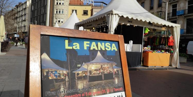 La Fira Artesana de Nadal de Sabadell estàoberta fins al 5 de gener | Pau Duran