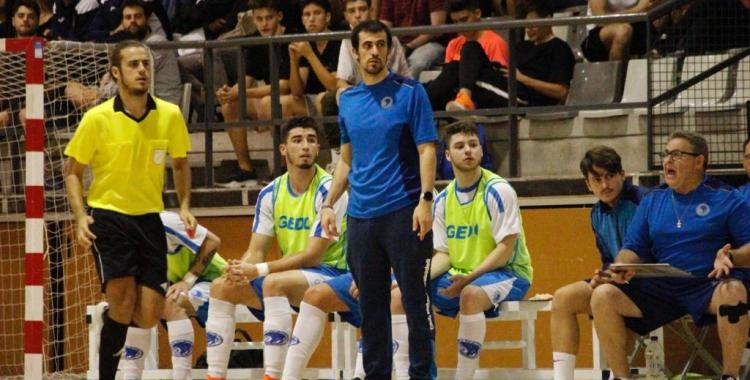 Borja Burgos, el tècnic nedador | Pau Vituri