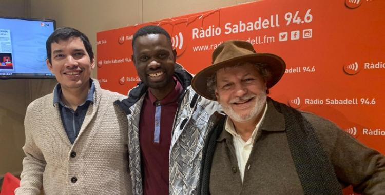 Dimitre Defranc, Lamine Souane i Hugo Colacho/ Mireia Sans