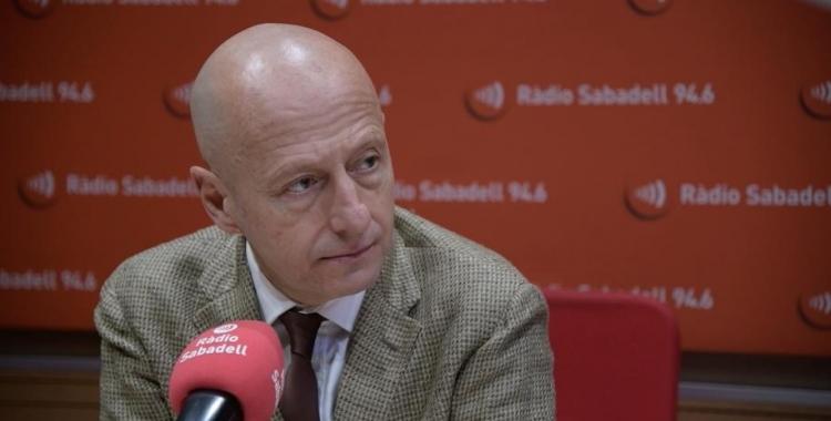 Calzada, en un moment de l'entrevista d'avui | Roger Benet