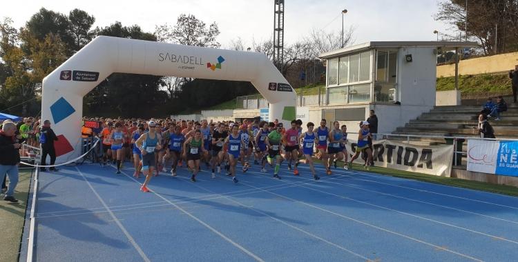 Moment de la sortida de la cursa | Àngel Viñeta