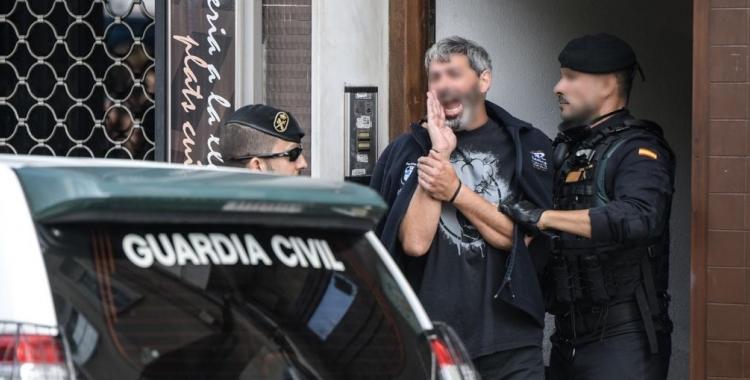 Llibertat amb càrrecs i sota fiança per a Xavi Duch, CDR empresonat | Roger Benet