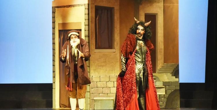 """2.000 persones van anar a veure """"Els Pastorets"""" al Teatre Sant Vicenç   Cedida"""