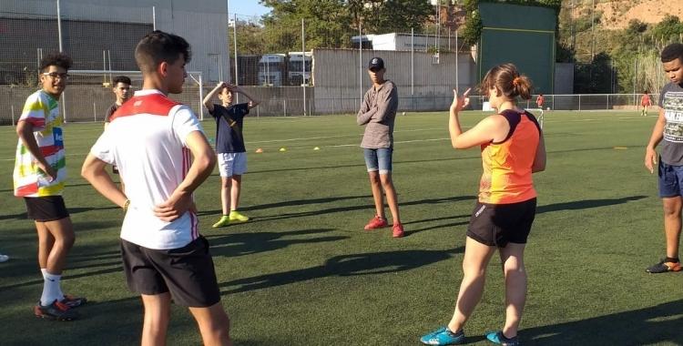 Joves participants del projecte Placant Barreres | Cedida