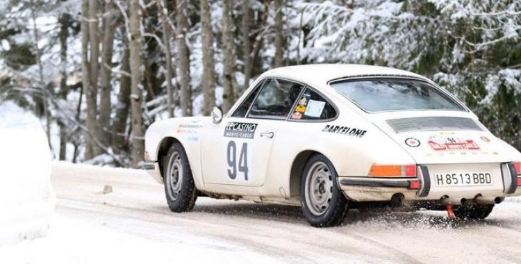 El Porsche que copilotarà Giralt | JAS Info Service