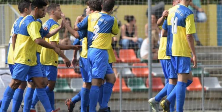 En el partit d'anada el Sabadell Nord va guanyar (3-2) amb dos gols d'Albert Luque i un de Jandro | Roger Benet