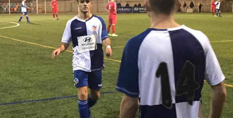 Pere Belmonte va ser l'autor del primer gol arlequinat | Adrián Arroyo