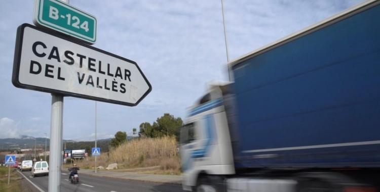 La carretera B-124 uneix Sabadell i Castellar del Vallès   Roger Benet