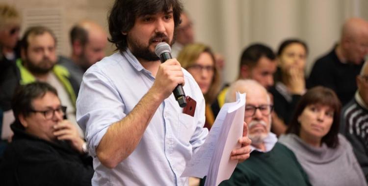 Ramón Jiménez, president de l'Associació del Poble del Sud | Roger Benet