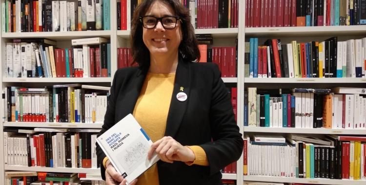 Diana Riba a la presentació del llibre aquest vespre | Helena Molist
